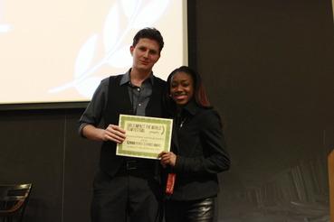 Peoples Choice Award Dan and Adriiana
