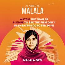 Stand w Malala